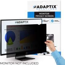 "Adaptix Monitor Privacy Screen 20.1"" – Info Protection for Desktop Computer Security – Anti-Glare, Anti-Scratch, Blocks 96% UV – Matte or Gloss Finish Privacy Filter Protector – 4:3 (APF20.1)"