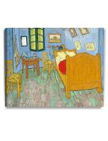 DECORARTS - Bedroom in Arles (Third Version), Vincent Van Gogh Art Reproduction. Giclee Canvas Prints Wall Art for Home Decor 30x24
