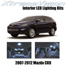 XtremeVision Interior LED for Mazda CX9 2007-2012 (10 Pieces) Cool White Interior LED Kit + Installation Tool Tool