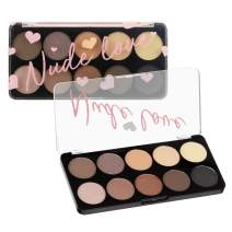 Color Story Women's Cosmetics NUDE LOVE Eyeshadow Collection - 10 Color Palette
