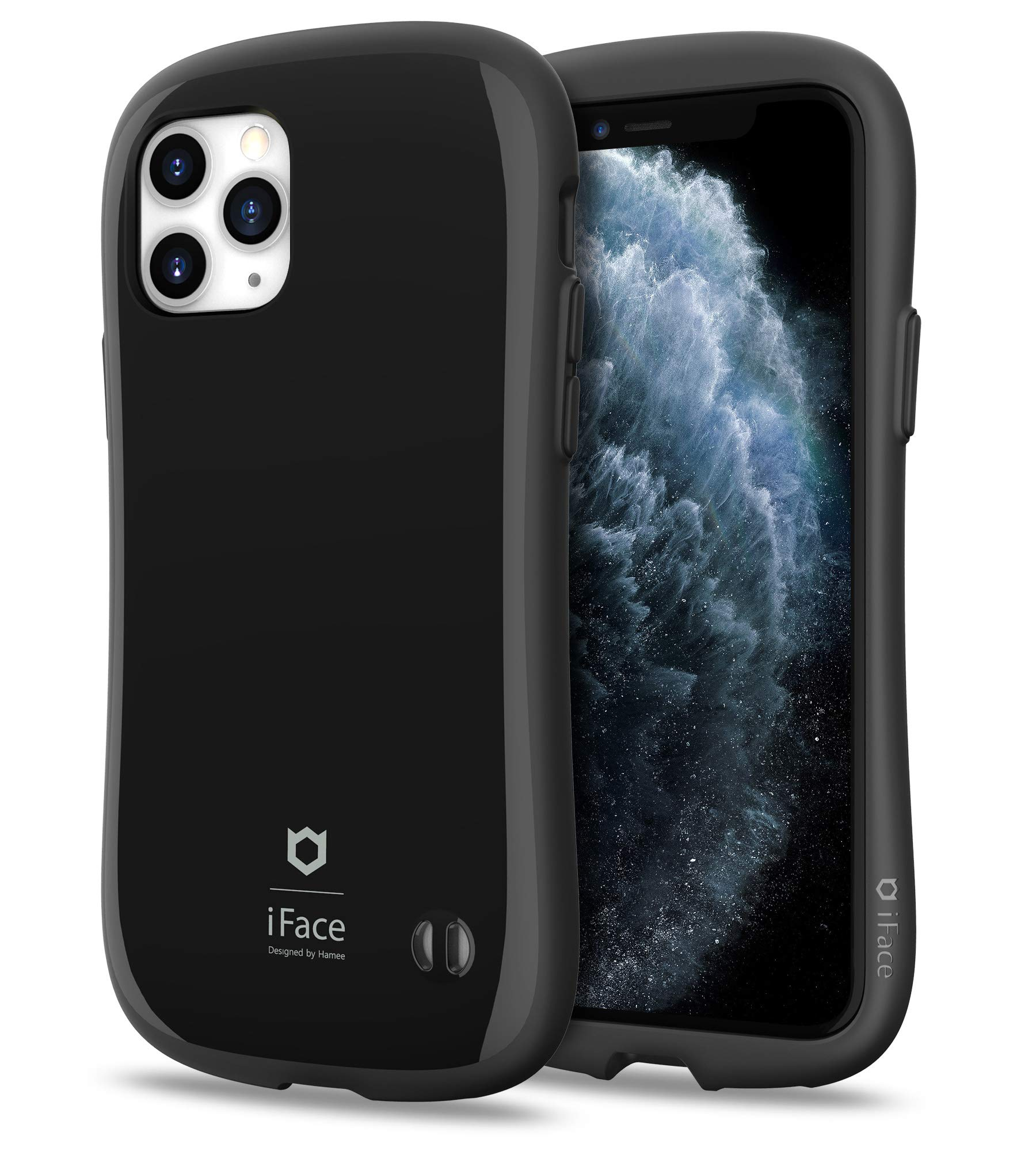 iFace First Class Series iPhone 11 Pro Case – Cute Dual Layer [TPU and Polycarbonate] Hybrid Shockproof Protective Cover for Women [Drop Tested] - Black