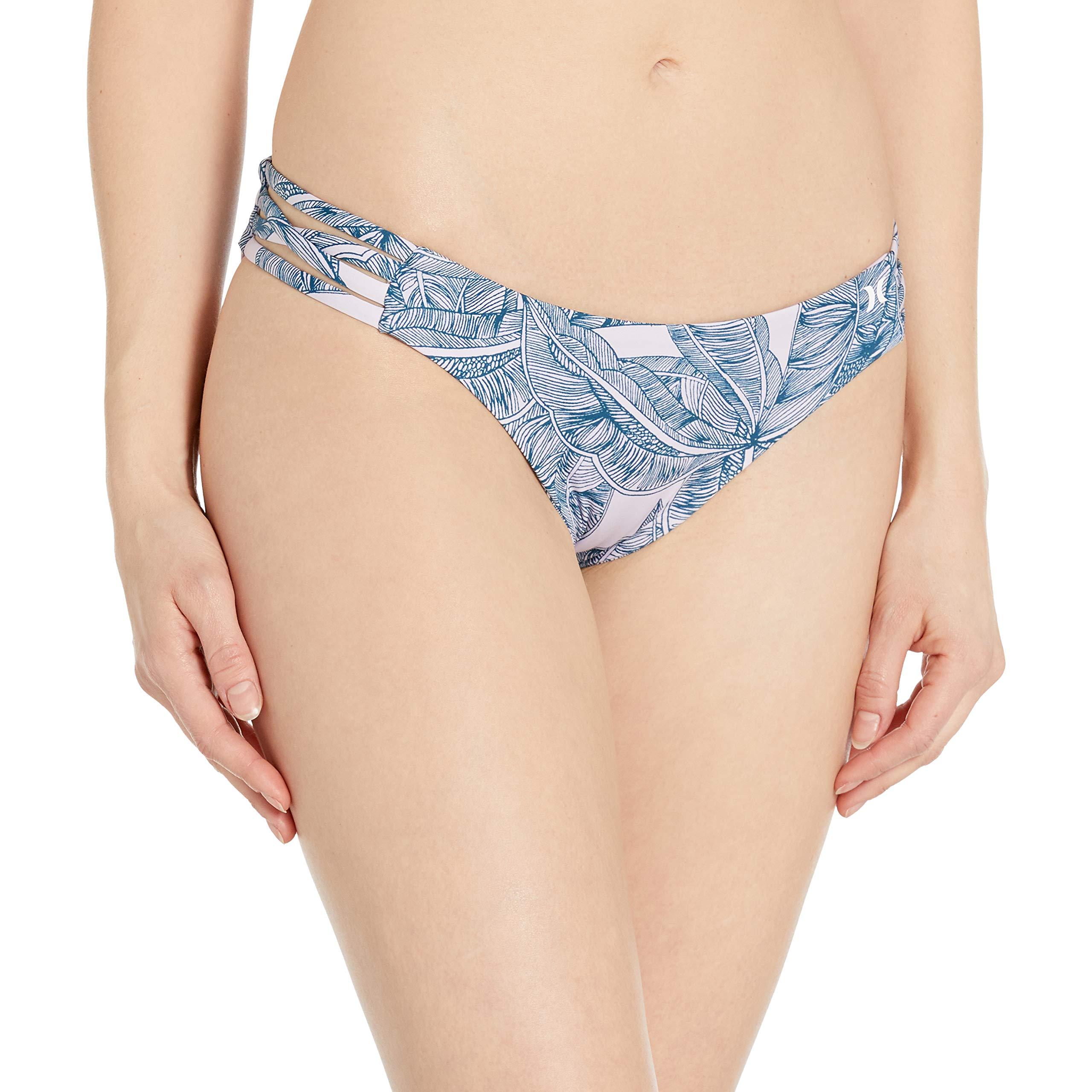 Hurley Women's Quick Dry Compression Printed Bikini Surf Bottom