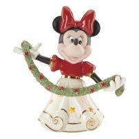Lenox Classics Disney's Merry Minnie Lighted Figurine