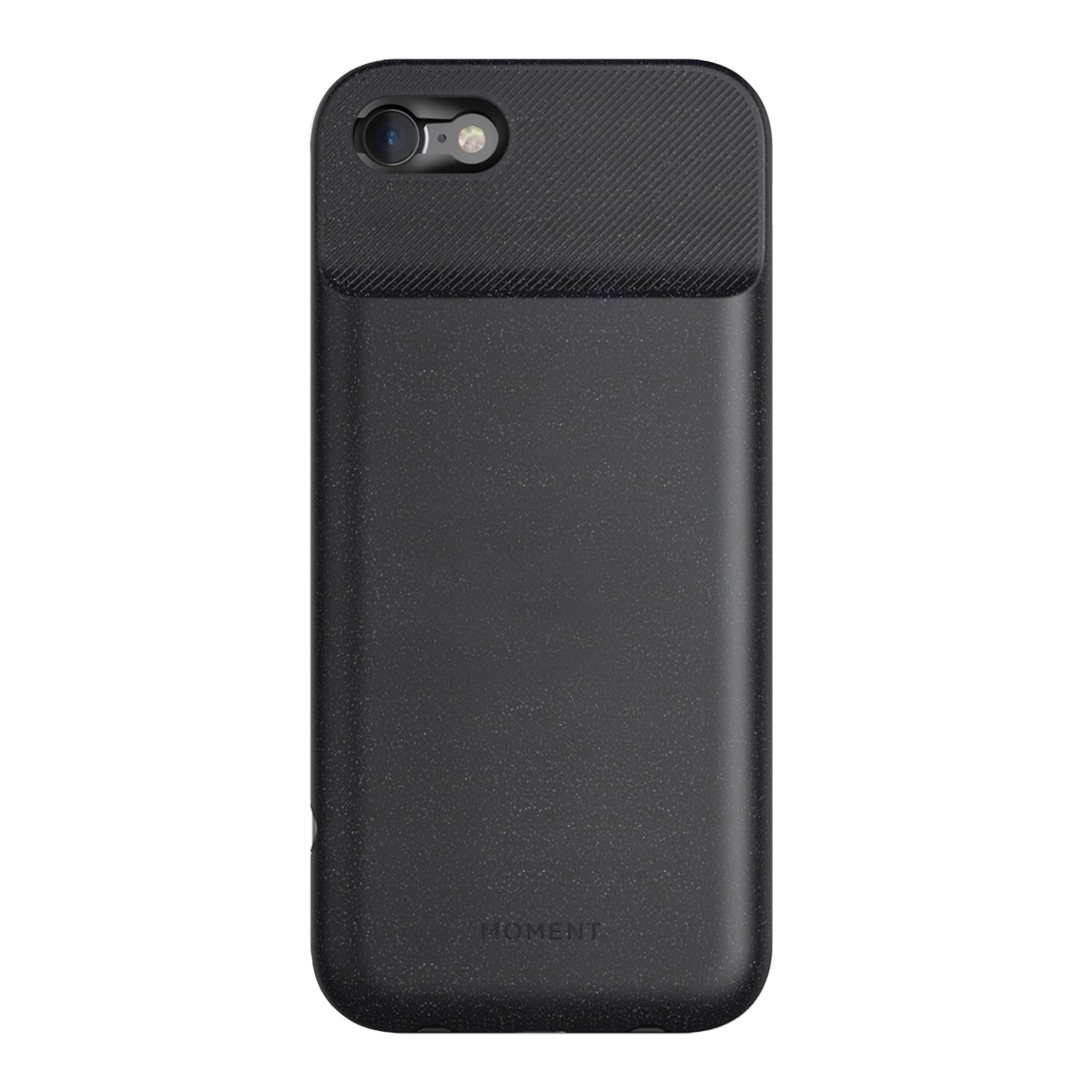 Moment - iPhone 7/8 Battery Case - Black - Protect, Charge, and take Better Pictures.