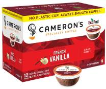 Cameron's Coffee Single Serve Pods, Flavored, French Vanilla, 12 Count (Pack of 1)