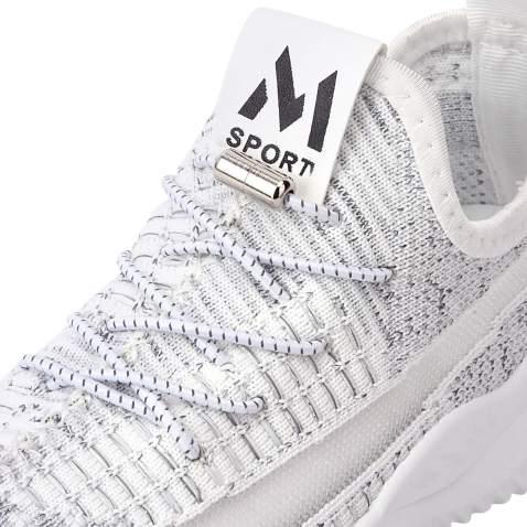 No Tie Reflective shoelaces for Kids, Men, Women - Elastic Athletic Running Shoe Laces ( 2 Pairs )