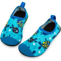 Crova Kids Water Shoes Quick Dry Aqua Socks Non-Slip Barefoot Sports Shoes for Boys Girls Toddler