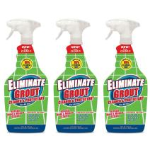 Eliminate Grout Cleaner & Sealer with Hydrogen Peroxide - 25 oz - 3 Pack by Clean-X