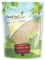 Food To Live Certified Organic Sesame Seeds (Raw, Hulled, Kosher) (8 Ounces)
