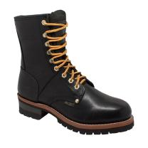 Ad Tec Supper Logger Boots (Black, Numeric_11_Point_5)