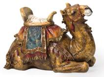 """Joseph's Studio by Roman - Colored Camel Figure for 27"""" Scale Nativity Collection, 14.5"""" H and 21"""" W, Resin and Stone, Decorative, Collection, Durable, Long Lasting"""