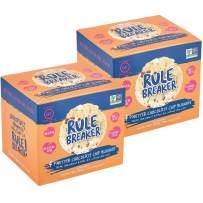 Rule Breaker Snacks, PNutter Chocolate Chip Blondie, Vegan, Gluten Free, Nut Free, Allergy Friendly, Kosher, Individually Wrapped 1.9oz Cookies (8 Blondies)