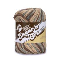 Lily Sugar 'N Cream  The Original Ombre Yarn - (4) Medium Gauge 100% Cotton - 2 oz -  Earth   -  Machine Wash & Dry