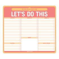 Knock Knock Let's Do This Paper Mousepad with Pen Holder (12613)