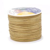 Mandala Crafts Blinds String, Lift Cord Replacement from Braided Nylon for RVs, Windows, Shades, and Rollers (0.8mm, Tan)