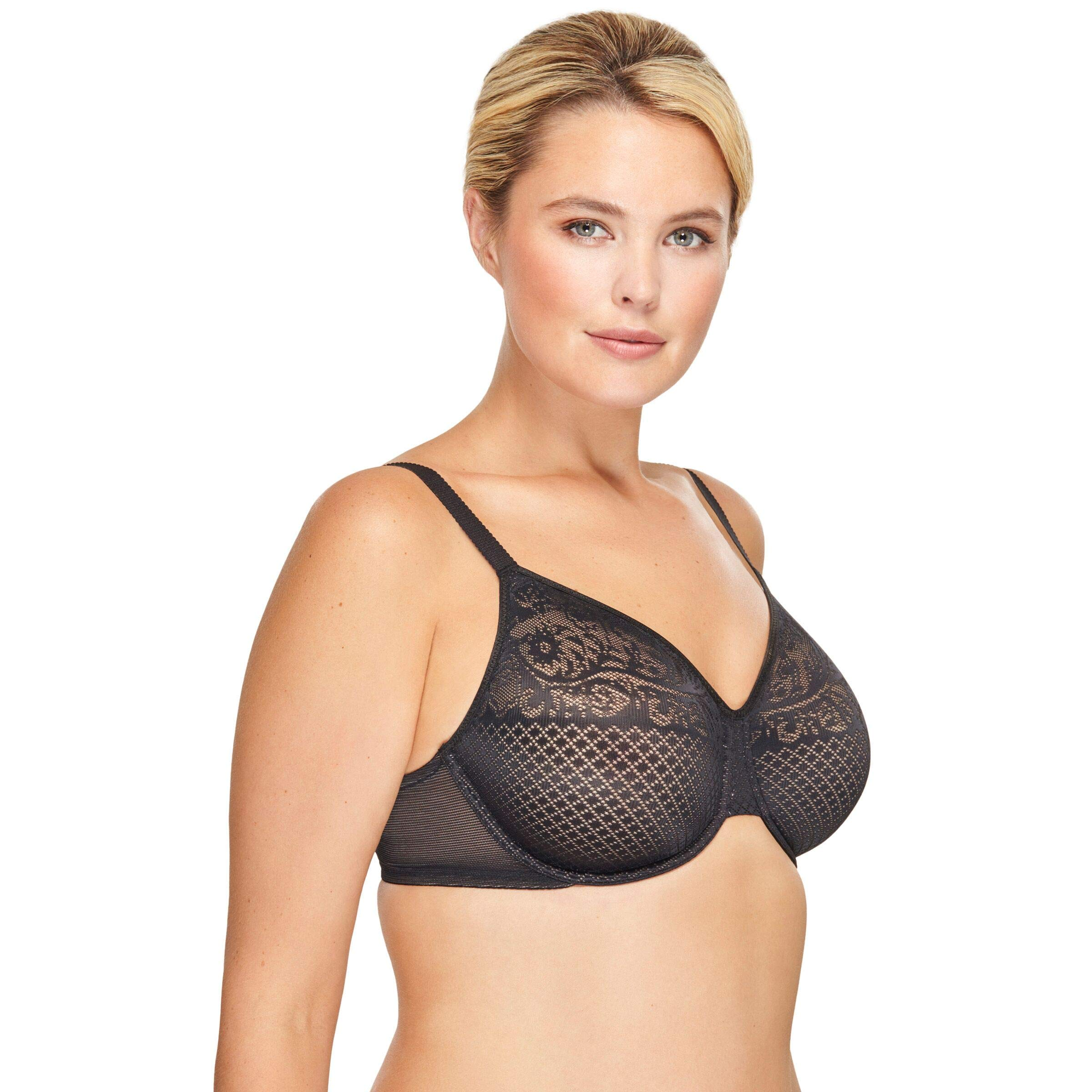 Wacoal Women's Visual Effects Minimizer Bra, Slate