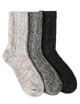 OSABASA Womens Wool Crew Socks 2 to 6 Pairs With Various Printing