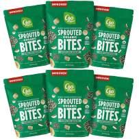 Go Raw Organic Sprouted Bites, Sweet Spirulina, 3 oz. Bags (Pack of 6) — Organic | Gluten Free | Paleo | Vegan | Superfood