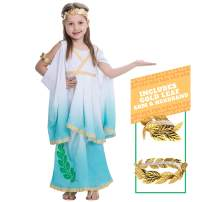 Spooktacular Creations Deluxe Greek Goddess Costume Set for Kids Girls