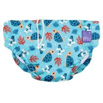 Bambino Mio, Reusable Swim Diaper, Medium (6-12 Months), Turtle Bay