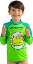 Kids' Rash Guard for Water Activities - UV Sun and Wind Protection, Keeps Warmth - Pequeno: designed in Italy