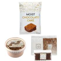 Chocolate Cake Mix DIY Baking Cake & Chocolate Icing Mixes to Bake at Home Homemade Cakes By CakeryBox