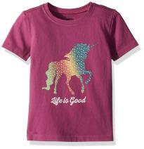 Life is Good Toddler Crusher Rainbow Unicorn