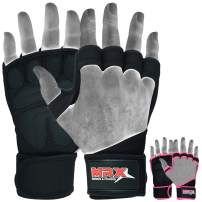 Weight Lifting Gloves with Neoprene Wrist Wraps, Sticky Palm Protection with Extra Grip. Great for Exercise Pull Ups, Cross Training & Fitness, Suits Men & Women