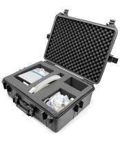 Casematix CPAP Travel Case for Machine, Mask, Hose and Other Accessories - Hard Case CPAP Travel Bag Compatible with AirMini Auto, AirSense 10, Respironics DreamStation & More - Case ONLY