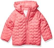 Carter's Girls' Little Fleece Lined Puffer Jacket Coat