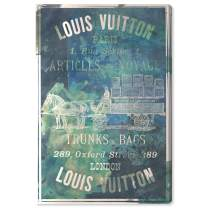 """The Oliver Gal Artist Co. Fashion and Glam Wall Art Canvas Prints 'Articles on The Water' Home Décor, 40"""" x 60"""", Blue, Green"""