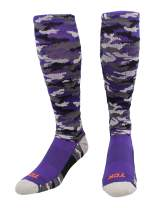TCK Sports Elite Performance Over The Calf Camo Socks