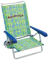 Margaritaville 5-Position Lay Flat Folding Beach Chair