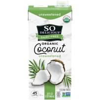 So Delicious Coconut Milk, Unsweetened, 32 FL oz