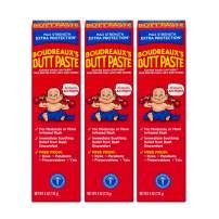 Boudreaux's Butt Paste Diaper Rash Ointment | Maximum Strength | 4 Ounce | Pack of 3