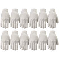 Wells Lamont Polyester Work Gloves, String Knit, 12 Pair Pack, Small (513SZ)