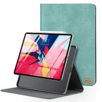TORRAS iPad Pro 12.9 case, Slim fit Flip Folio Leather iPad Pro Case for iPad Pro 3rd Generation [Auto Sleep/Wake] [iPad Pencil Charging], Mint