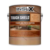 INSL-X TS330809A-01 Tough Shield Floor and Patio Coating Paint, 1 Gallon, Gray Pearl