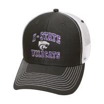 Ouray Sportswear NCAA Kansas State Wildcats Sideline Cap, Dark Grey/White