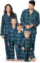 PajamaGram Matching Christmas PJs for Family - Matching Pajamas, Heritage Plaid
