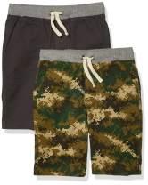 Amazon Essentials Boys' Pull-On Woven Shorts