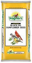 Wagner's 76029 Black Oil Sunflower Seed Wild Bird Food, 40-Pound Bag