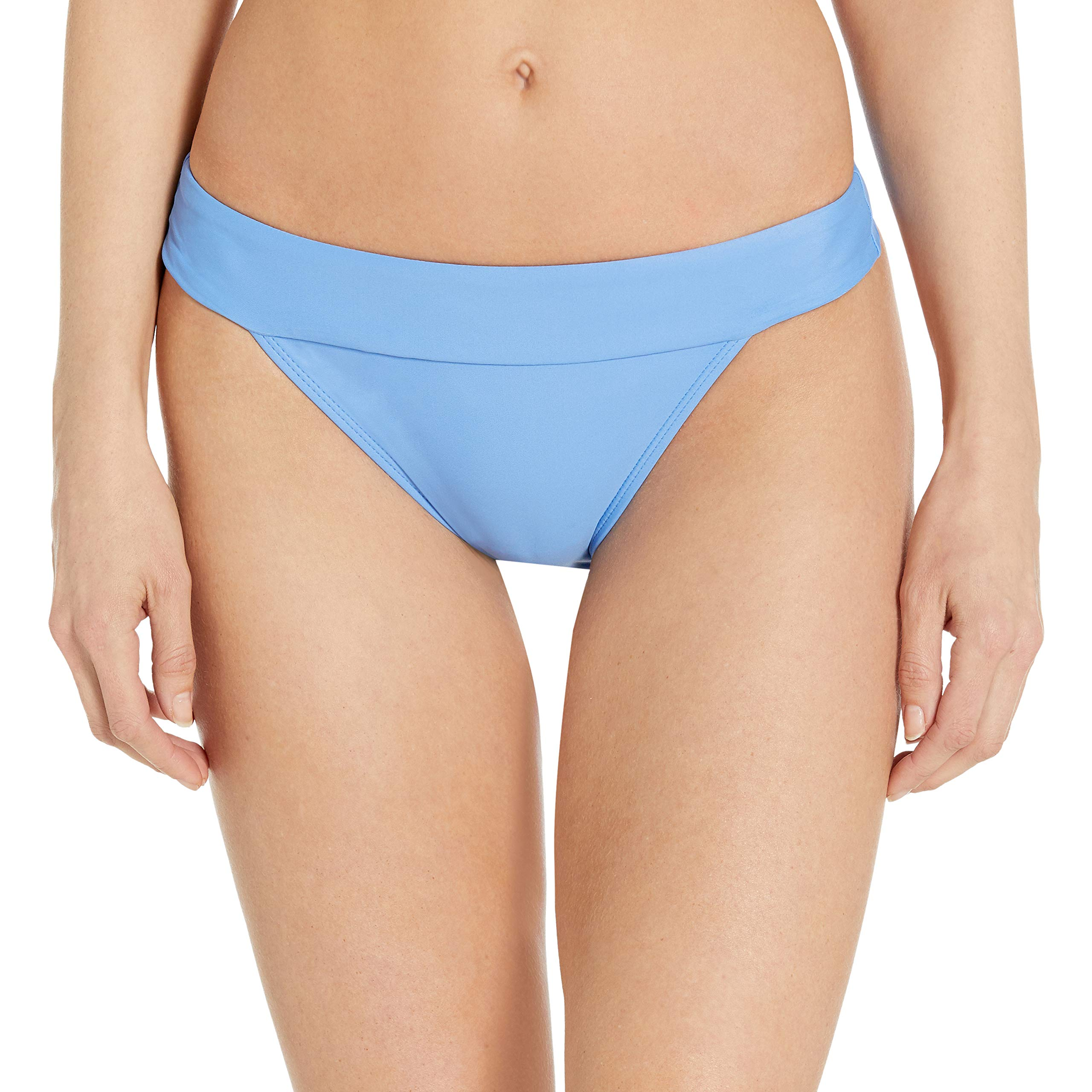 Amazon Brand - Mae Women's Swimwear Banded Cheeky Bikini Bottom