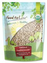 Organic Sunflower Seeds, 2 Pounds - Kernels, Non-GMO, Kosher, Raw, No Shell, Vegan, Bulk
