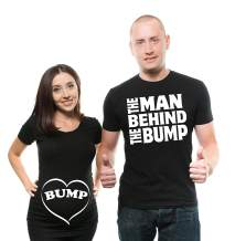 Couple Shirts Funny Couple Maternity Matching tees Baby Shower Shirts