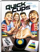 Quick Cups, Match 'n' Stack, Cup Stacking Family Game for Kids Aged 6 and Up, by Spin Master Games