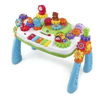 VTech GearZooz 2-in-1 Jungle Friends Gear Park, Great Gift For Kids, Toddlers, Toy for Boys and Girls, Ages 2, 3, 4