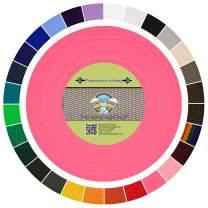 Country Brook Design - Polypropylene Webbing (Pink, 100 Yards, 1 Inch)