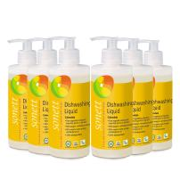 Sonett Organic Dishwashing Liquid Calendula, Lemon 10 oz and 33.8 oz (Calendula, 10 Fl.Oz (6 Count))