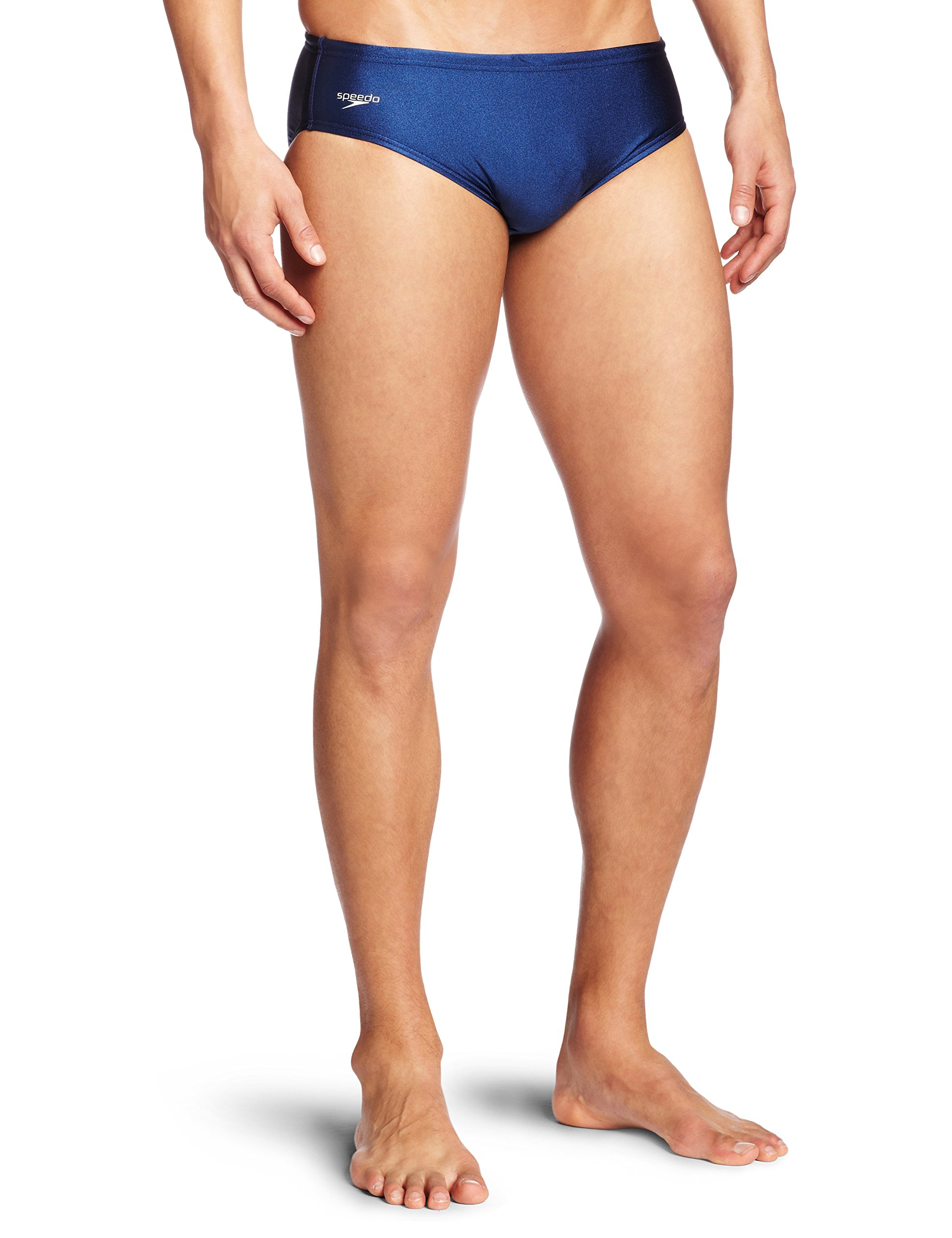 Speedo Mens Swimsuit Brief Powerflex Eco Solid Adult – Manufacturer Discontinued